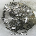 Platinum Flake with sandings