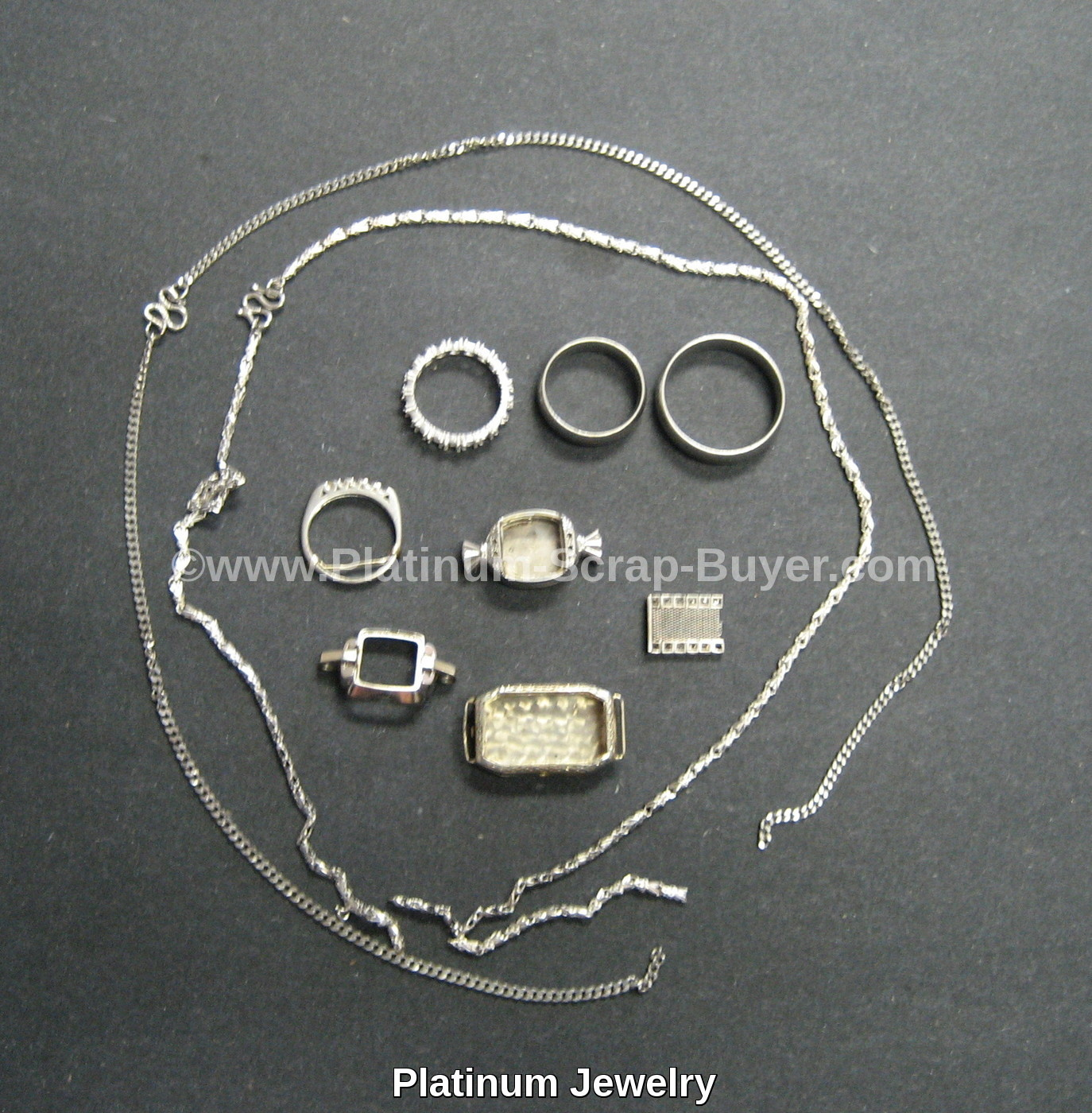 Platinum Jewelry scrap