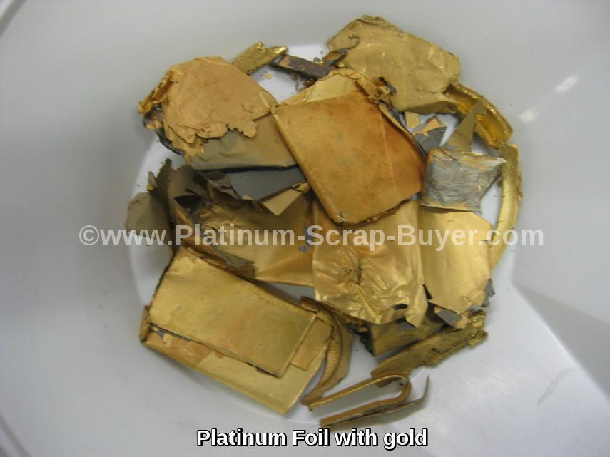 Platinum Scrap Buyers Sell Your Platinum Foil